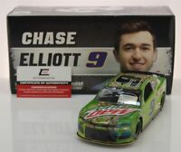 CHASE ELLIOTT #9 2019 AUTOGRAPHED MOUNTAIN DEW 1/24 SCALE IN STOCK FREE SHIPPING