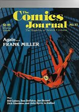 The Comics Journal No.77 Frank Millar