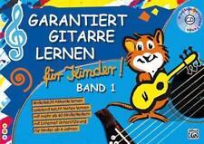 Garantiert Gitarre lernen für Kinder - 9783933136299 PORTOFREI