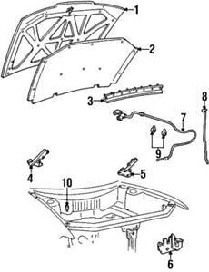 Genuine Ford Latch XF5Z-16700-AA