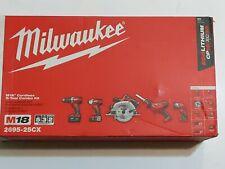 Milwaukee M18 Cordless 5-Tool Combo Kit  2695-25CX