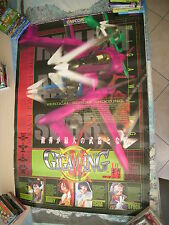 >> GIGAWING GIGA WING CAPCOM SHOOT CPS2 ARCADE B1 SIZE OFFICIAL POSTER! <<