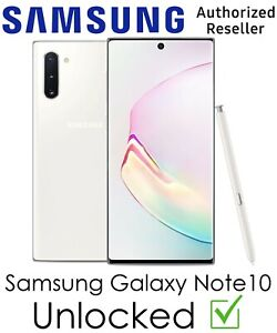 Samsung Galaxy Note10 N970U 256GB T-Mobile AT&T Sprint Verizon Carrier Unlocked