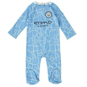 Manchester City FC Baby Kit Sleepsuit Babygrow   2020/21