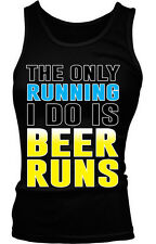 The Only Running I Do Is Beer Runs Go Buy Drunk Get Case Pack Six Girls Tank Top