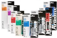 Araldite Standard Rapid Fusion Crystal Steel Instant Repair Bar Strong Epoxy