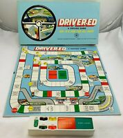 1969 Driver Ed Game by Visual Dynamics Never Played FREE SHIP