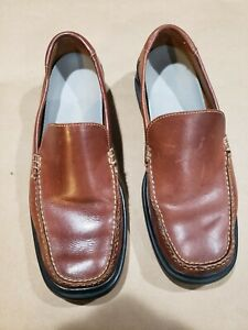 Cole Haan Loafers Slip on Mens Shoes Tan US Size 11M