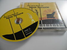 NINA SIMONE THE VERY BEST OF CD I GOT LIFE BABY JUST CARES FOR ME FEELING GOOD