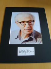 Woody Allen Genuine Signed Authentic Autograph - UACC / AFTAL.