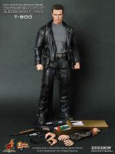 "1:6 12"" HOT TOYS MMS117 TERMINATOR T2 T-800 Arnold Schwarzenegger ACTION FIGURE"
