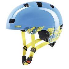 Uvex Niños BMX Skate casco bicicleta Niño 3 Blackout Blue 51-55cm 4148190715