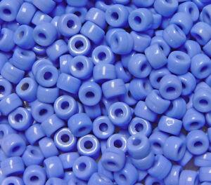 Crow Beads 20 Pcs 3.5mm Hole Rondelle Pony Montana Blue 9mm Czech 206