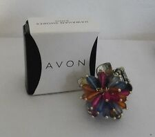 Avon HAWAIIAN SHORES Adjustable Stretch Band Fashion Ring Lot H4