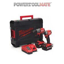 Milwaukee M18FPP2A2-502X Fuel M18FPD2 & M18FID2 Impact Driver 2 x 5.0Ah