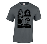 Legends never die tee shirt chris cornell kurt cobain soundgarden scott weiland