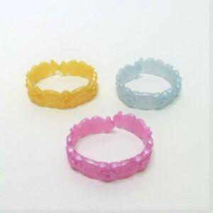 2012 Disney Dazzling Princess Game Replacement Part Pieces - 3 Bracelets