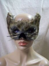 Furry Brown Wolf Costume Mask Big Bad Werewolf Ewok Bear Forest Creature Lynx