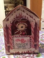 1992 North American Bear Co Muffy Ginger Bear Special Limited Edition + Book Nib