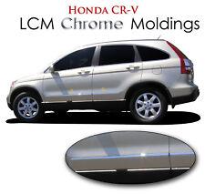 4PC LCM ABS CHROME BODY SIDE MOLDINGS LCM-CRV-156 FITS 2010 2011 HONDA CR-V