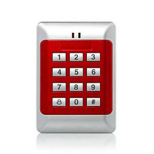 1x RFID Tueroeffner Digital Codeschloss Zutrittskontrolle Rot DE