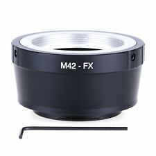 M42 M 42 Lens to Fujifilm X Mount Fuji X-Pro1 X-M1 X-E1 X-E2 Adapter Ring M42-FX