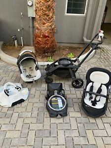 ORBIT BABY G3 TRAVEL SYSTEM, Used - Good Condition-Black-Stroller & Car Seat