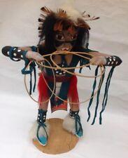 Kachina Doll Native American Vintage Doll Hoop Dancer