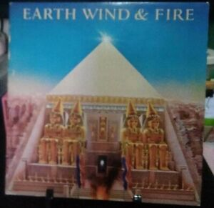 EARTH, WIND & FIRE All 'n All Gatefold Album Released 1977 Vinyl Collection USA