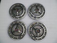1965-1966 Chevrolet Impala SS Super Sport spinner hubcaps set CHE1006