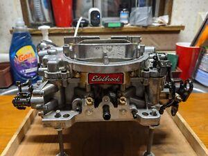 Edelbrock Thunder Series AVS Carburetor 4v 650 1825 Mustang HO Chevelle Charger