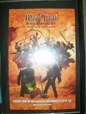 "Meat Loaf        PROMO POSTER        ""Braver Than We Are""     11"" x 17"""
