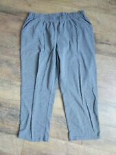 White Stag Women's Petite Size 2X Knit Pants Elastic Waist Casual Gray