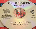 The Pretenders Live Vol. 1 Aust. CD Super Rare Stop Your Sobbing Brass In Pocket