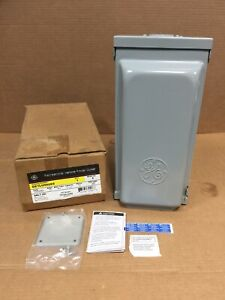 HOUSTON STOCK NEW GE GE1LU502SS POWER OUTLET PANEL FREE 2 DAY AIR BUY NOW ONLY