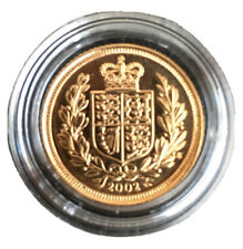 2002 Elizabeth II Shield Half Sovereign