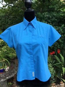 Ben Sherman Shirt - Blue - Large - Short Sleeves - Hardly Worn