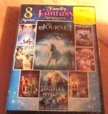Family Fantasy Adventure: 8 Movies (DVD, 2013, 2-Disc Set)