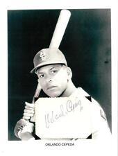 Orlando Cepeda Autograph Baseball Boston Red Sox SF Giants St Louis Cardinals #2
