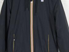 Giubbino K-way Uomo Jacques Ripstop Marmotta K0063g0900 Black Corto Slim L