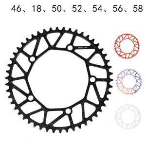 130BCD Narrow Wide Single Disc Chainring Crankset Plate Chainwheel Tooth Disc
