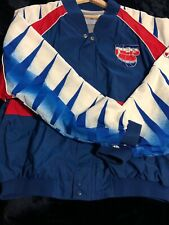 4cf77c4f47d Vintage 1990s Champion New Jersey Nets Warmup Jacket XL Rare. Not M N