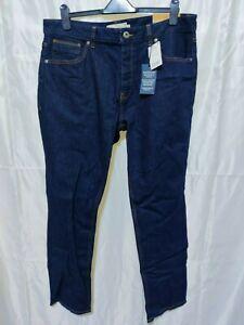 NEXT- Men's Slim Jeans with Belt - Size 38R - Tag £22 - (j8-16)