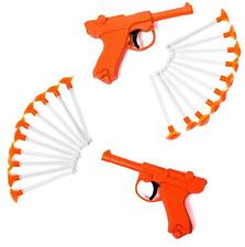 Tigerdoe Toy Guns  Toy Dart Guns for All Ages  Blaster Gun with Darts  (2 Pack)