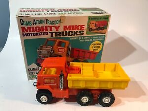 Vintage Remco Mighty Mike Action Traction Motorized Truck w/ Original Box