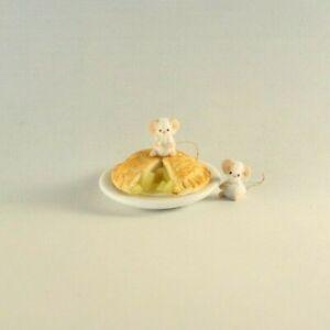 OOAK~Mice~Mouse~Pie~Sculpt~Mini~Art~Artist Doll~Baby Toy~Dollhouse~Cheryl Brown