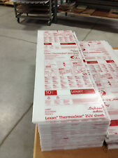 "Lexan Twinwall Opal Thermoclear Sheets .236"" x 20"" x 65"""