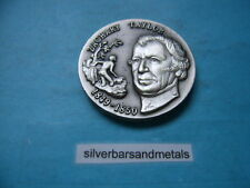 ZACHARY TAYLOR PRESIDENT WITTNAUER SET SILVER COIN ROUND RARE HISTORICAL ITEM
