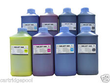 8 Qt Pigment UltraChrome Refill ink for Epson 4000 7600 9600 Wide-format printer