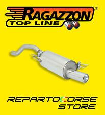 RAGAZZON TERMINALE SCARICO ROTONDO 90mm SEAT IBIZA II 6K 1.6 16V 125CV DAL 00>01